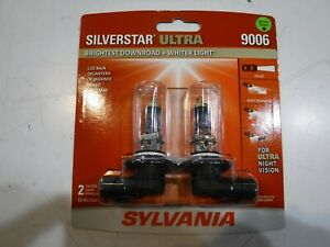 New Sylvania Silverstar Ultra Fog Light Headlight Bulb 9006su 2