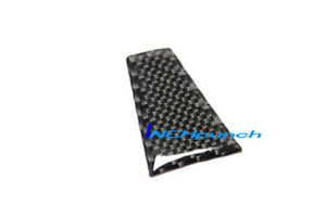 Carbon Fiber Steering Wheel Lower Trim Filler Sticker For 14 18 Tesla Model S X