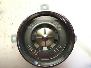 1955 Buick Special Century 40 60 Series Dash Instrument Cluster Housing