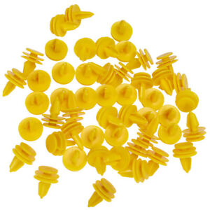 50pcs Nylon Door Panel Fastener Retainers Clips Fit For Jeep Dodge Chrysler Us