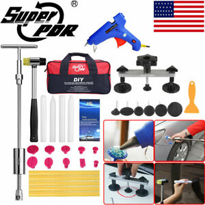 Super Pdr Tools Painless Dent Puller Remover Car Body Damage Repair 31pcs Of Set