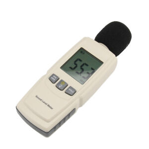 Lcd Sound Level Meter Noise Volume Decibel Monitoring Tester 30 130db Home Pt