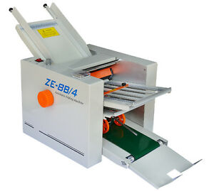 220v 310mm 700mm Automatic Paper Folding Machine Folder Paper 4 Folding Plates