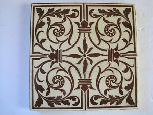 Antique Victorian Maw Co Aesthetic Tile C 1875 95 Victoria S Jubilee