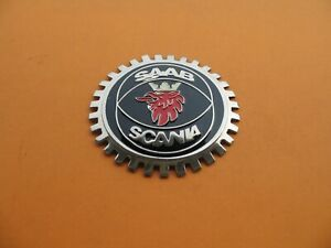 Saab 9 2 9 3 93 9 4 94 9 5 95 9 7 97 900 9000 Front Emblem Logo Badge Sign A7087