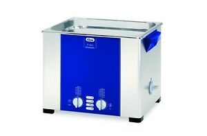 Elmasonic S100h Heated Ultrasonic Cleaner 2 5 Gallon 1007152 11 8 X 9 4 X 5 9