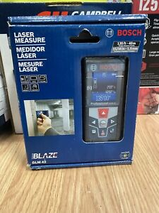 Bosch Blaze Glm 42 Laser Measure 135ft