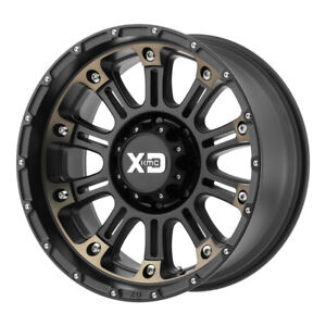 4 New 20x9 Xd Hoss 2 Satin Black Machined W Dark Tint Wheel rim 6x139 7 Et0