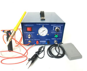 50a Pulse Argon Spot Welder Gold Silver Platinum Jewelry Welding Machine 220v