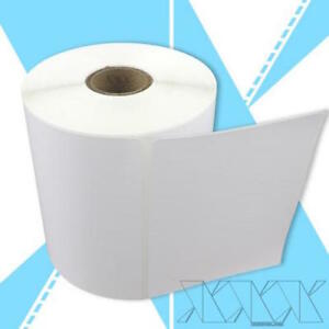 21 Rolls 4x3 Direct Thermal Labels Zebra Compatible Perforated 500 rl