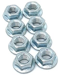8 Outer Wheel Rim Flange Hex Nuts M998 Military Humvee 12339403 5310 01 021 9027