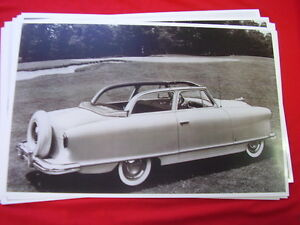 1954 Nash Rambler Convertible 11 X 17 Photo Picture