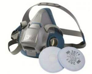 3m Medium Respirator W Pair Filter Exp 2025 New Made In Usa Ready To Use