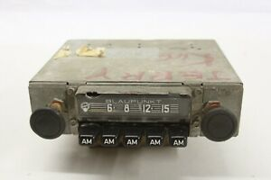 Original 1970 s Vw Porsche Bmw Blaupunkt Am Push Button German Radio Assembly