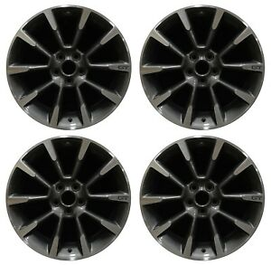 19 Ford Mustang Gt 2011 2012 Factory Oem Rim Wheel 3863 Charcoal Machined Set