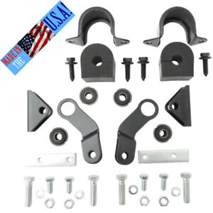 Corvette New 9 16 Rear Sway Bar Mounting Kit 427 454 Bb 1968 1974 Usa Made