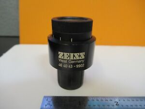 Zeiss Germany Eyepiece 464043 Kpl 10x Optic Microscope Part As Pictured w2 b 52