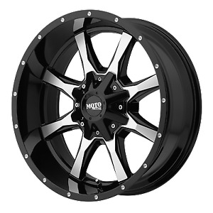 Mo970 17x8 Chevy Silverado 2500hd Truck 8x180 Black Rims Wheels 8 Lug 2011 2018