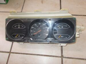 81 89 Dodge Ram Charger Truck Instrument Cluster For Automatic Transmission