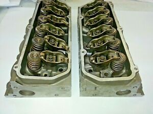 Ford T bird Set Of 3 8l V 6 Cylinder Heads For Supercharged Engine Used