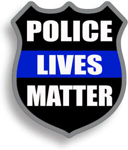 Police Lives Matter Decal Sticker Support