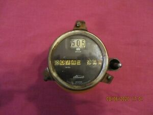 Veteran Vintage Car Truck Stewart warner Speedometer Dodge Car Truck