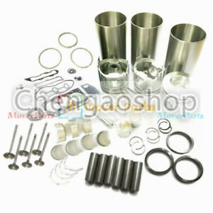 Overhaul Rebuild Kit For Yanmar 3tn84rj Engine John Deere 870 955 Tractor q5 Zx