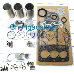Overhaul Rebuild Kit For Yanmar 3tn66uj 3tn66 uj Engine John Deere655 Tractor zx