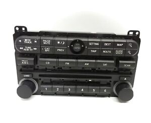 2004 2005 2006 Nissan Altima Navigation Map Dest Cd Radio Control Panel Oem