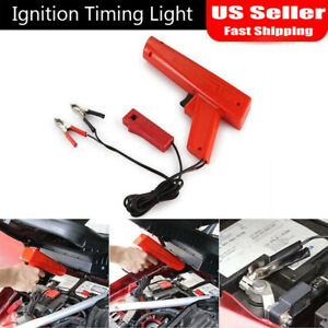 Engine Ignition Inductive Timing Light Automotive Lamp Strobe Tester Gun