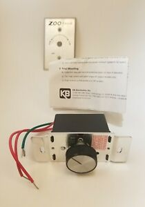 Solid State Variable Speed Ac Fan Motor Control 5 A Fla 120 Vac Fireplace Blower