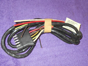 1968 1969 1970 1971 1972 Ford F250 F350 Nos Camper Special Trailer Lamp Wiring