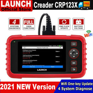 2021 Launch X431 Crp123x Obd2 Car Scanner Automotive Diagnostic Tool 4 System