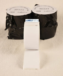 Labels 30321 Large Address Rolls White Adhesive Thermal Compatible W Dymo r Xl