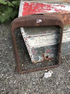 Overland Grill Shell Teens Twentys 1920s Barn Find Yard Art Patina Rat Rod