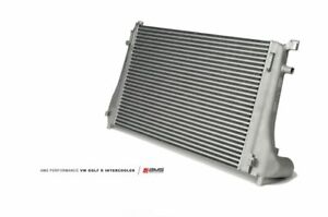 Ams Performance Front Mount Intercooler W Cast End Tanks For 2015 Vw Golf R Mk7