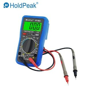 Digital Multimeter Tester Portable Dmm Meter Ac dc Volt 6000c 12v Battery Test