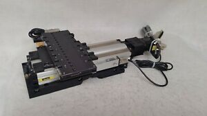 Parker 803 4099e Xy Linear Actuator Stage W Mdrive 17 Plus Interface Cables