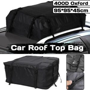 Car Cargo Roof Top Carrier Bag Rack Travel Storage Luggage Rooftop
