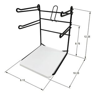 Closeout New Countertop T shirt Bag Stand 9 Wide For Retail Bags Free Shipping