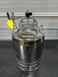 Alloy Products Corp 304 Ss Pressure Vessel 9 Diameter 190 Psi Div 1 Mdmt 13 1