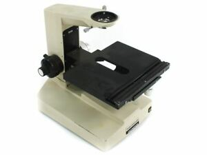 Mcbain Instruments Bhm Olympus Microscope W X y Table Incomplete For Parts