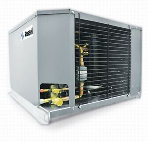 New Russell 2 5 Hp Outdoor Condensing Unit 208 230 1ph Rfo250e4s da Ext med temp