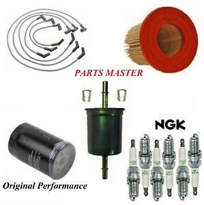 Tune Up Kit Filters Spark Plugs Fit Ford Mustang V6 3 8l 2001 2004