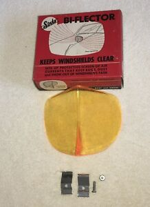 Nos Bug Snow Windshield Deflector Accessory Vintage Hood Original Box