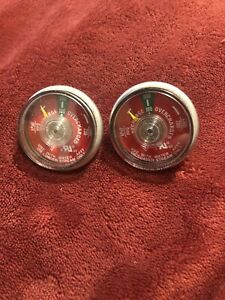 Lot Of 25 100 Psi Pressure Gauge For Portable Water Pressure Fire Extinguisher