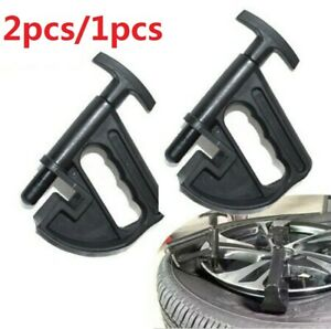 2 1 Pack Tire Changer Changing Bead Clamp Drop Center Tool Universal Rim Clamp
