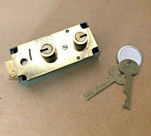 Lefebure 7300 Safe Deposit Box Lock W keys
