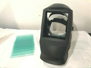 Lincoln Electric Fixed Shade No 10 Welding Helmet With 5 cover Lens New