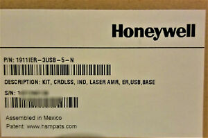 Honeywell Granit 1911i Usb Barcode Scanner Kit Cradle 1911ier 3usb 5